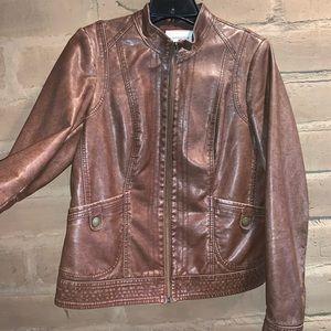 Tan Motorcycle Jacket